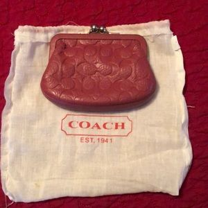 Coach Coin Bag